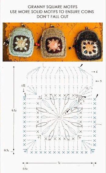 ¿Nos hacemos un bolso o un monedero con grannys (2)