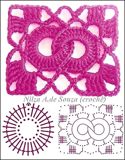 Gráficos de elegantes grannys square