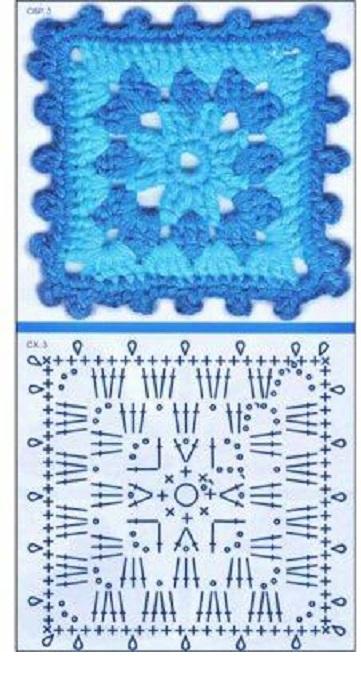 gráficos grannys square