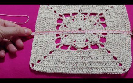 COMO LEER PATRONES- GRAFICOS: Crochet Granny Square (Cuadrados)-Parte 1