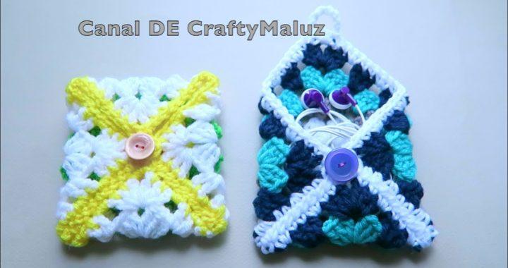 CROCHET TUTORIAL👜  Bolsita O Monedero a crochet fácil👍 crochet pouch