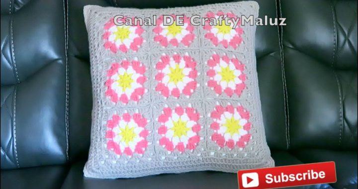 CROCHET TUTORIAL🔷 Como unir los granny squares 👍unión de cuadros de crochet