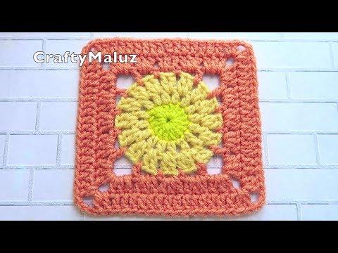 CROCHET TUTORIAL : HERMOSO CUADRO A CROCHET MUY FÁCIL | Aplicación a Crochet