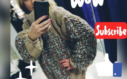 Cómo hacer jersey a CROCHET fácil a partir de un grannys square