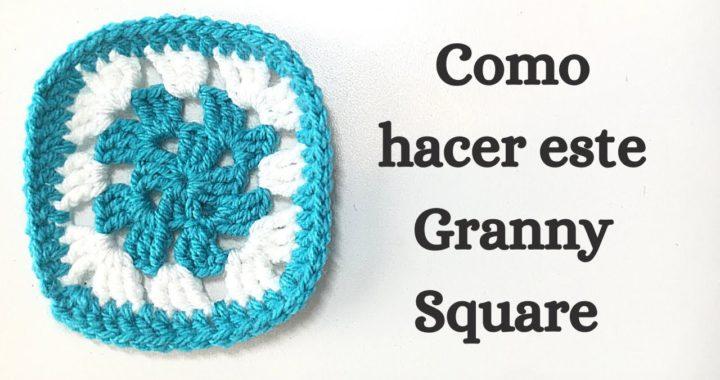Como hacer un Granny Square basico en crochet tutorial paso-a-paso |AprendeCrochet|