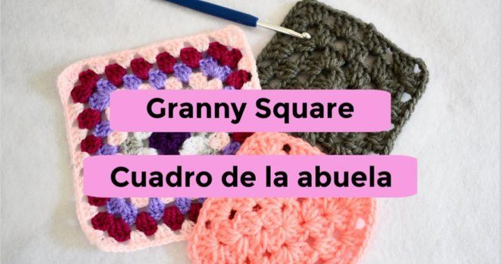 🟪Como hacer un Granny Square o cuadro de la abuela a CROCHET