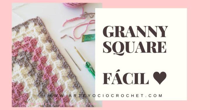 Cómo hacer un granny square básico a crochet