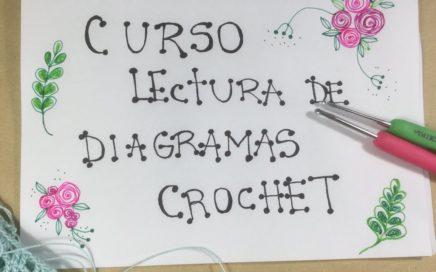 Cómo leer diagramas o patrones en crochet (1) paso a paso