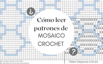 Cómo leer patrones en MOSAICO Crochet | CHIC DIY