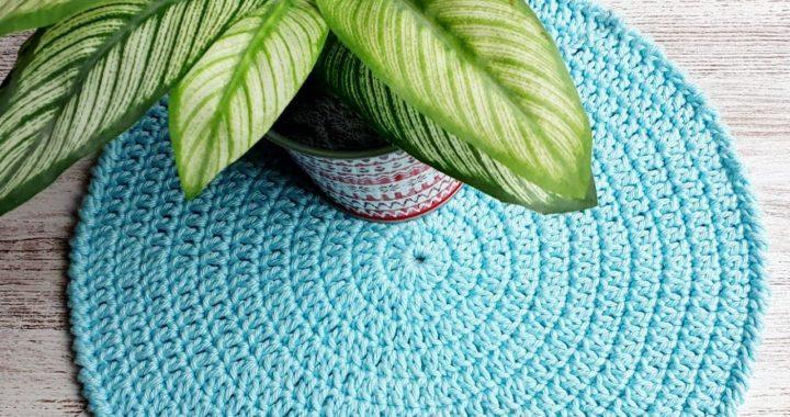 Como tejer tapete básico a crochet para principiantes paso a paso