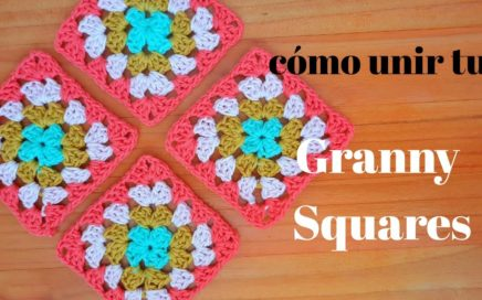Cómo unir tus Granny Squares, fácil.