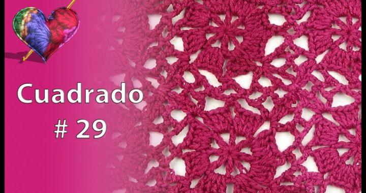 Crochet: Cuadrado # 29
