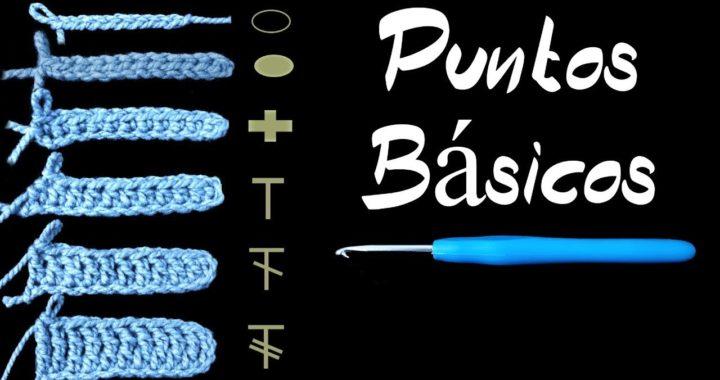 Crochet Fácil Puntos Básicos| Repaso para Principiantes | How To Crochet
