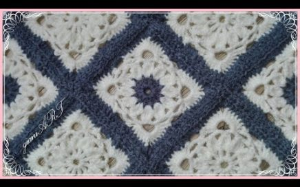 Crochet Granny Square blanket patterns