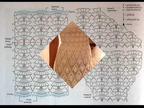 Crochet vestidos con graficos