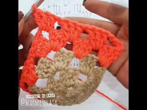 Cuadrado Granny aprende a leer y tejer patrones para principiantes tejido ganchillo crochet