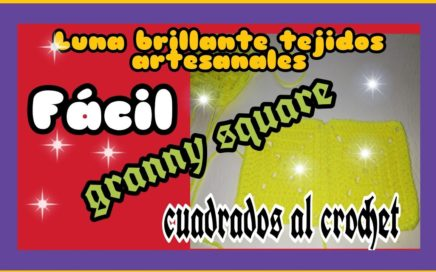 #Cuadros al crochet. #Granny square