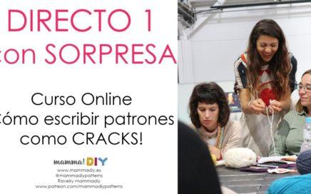 DIRECTO con SORPRESA 1 - Cómo escribir patrones como CRACKS - Crochet Edition