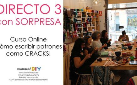 DIRECTO con SORPRESA 3 - Cómo escribir patrones como CRACKS - Crochet Edition