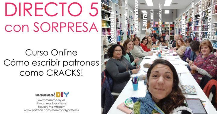 DIRECTO con SORPRESA 5 - Cómo escribir patrones como CRACKS - Crochet Edition