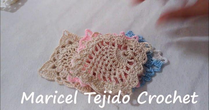 ESQUEMAS  y patrones de cuadros GRANNY a Crochet