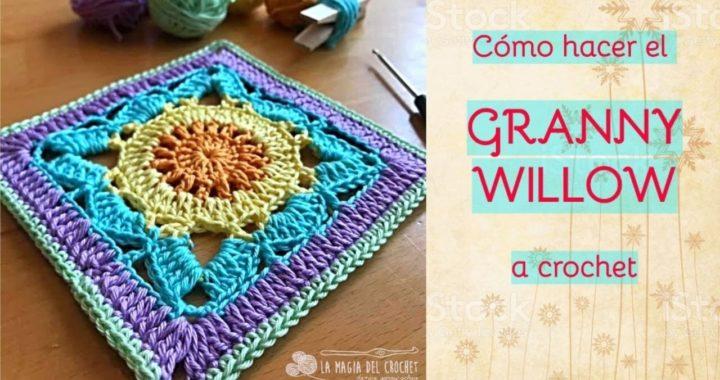 GRANNY WILLOW paso a paso -La Magia del Crochet-