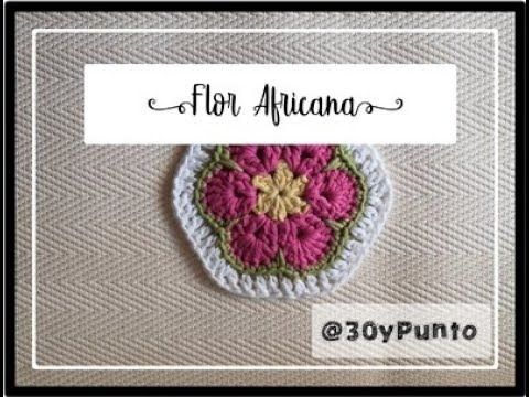 Granny Flor Africana- African Flower