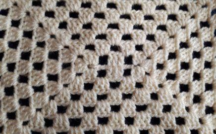 Granny Square A Crochet - Cuadro De La Abuela De Ganchillo - facil y rapido