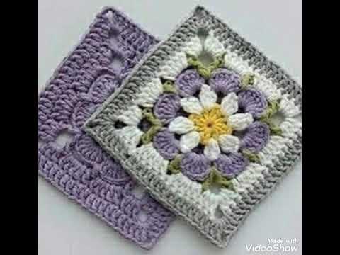 Granny Square Crochet#StepbyStep (3)