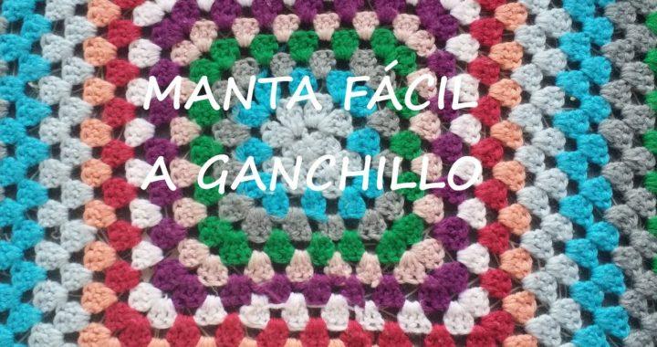 MANTA GRANNY SQUARE A CROCHET
