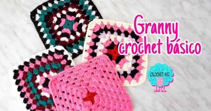 Mi primer proyecto a crochet -manta granny