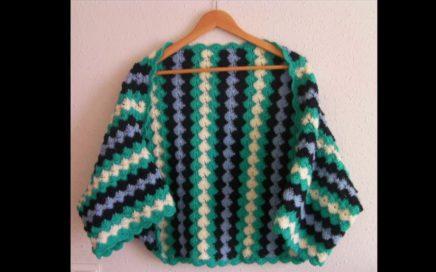 Patrones crochet chaquetas chalecos y jerseys 😁