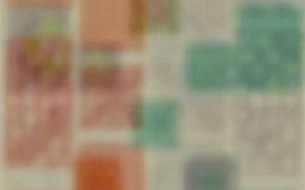 Patrones granny square para colchas a crochet