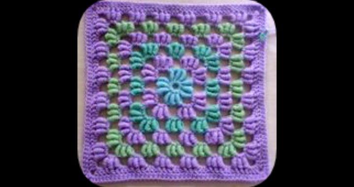 Patrones para tejer cuadros a crochet.(con ganchillo)