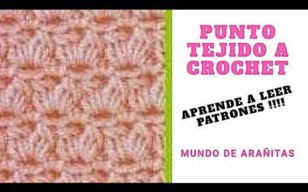 Punto a crochet 8 Aprende a leer patrones!!!