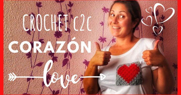 TUTORIAL TÉCNICA C2C CROCHET para principiantes paso a paso en español