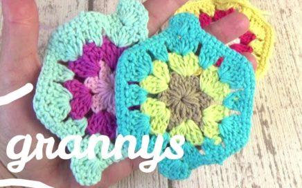 Tutorial Granny square en español en crochet fácil   Ganchillo fácil
