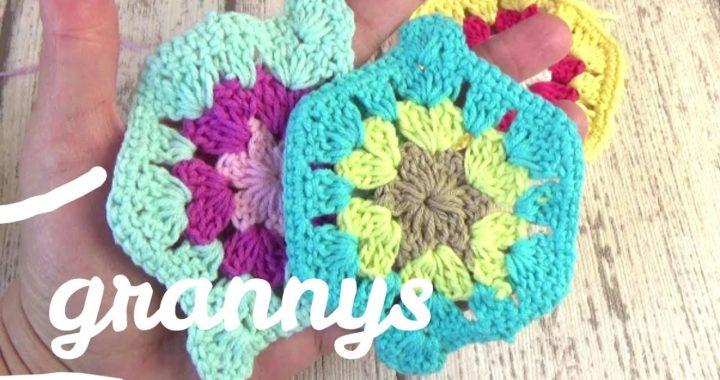 Tutorial Granny square en español en crochet fácil | Ganchillo fácil
