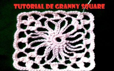 Tutorial de granny square fácil y versátil