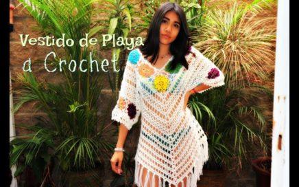 Vestido Brisa -a crochet-  (parte1)
