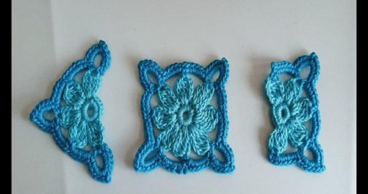 cuadrado a crochet - cuadro crochet - granny square a crochet - Ganchillo todo en crochet