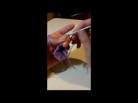 tejidos carla - como hacer un granny square básico #3