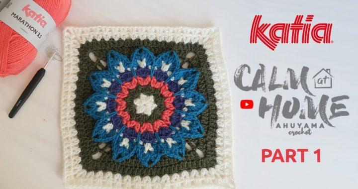 01 Calm at Home 🏠 Mandalas con Ahuyama Crochet