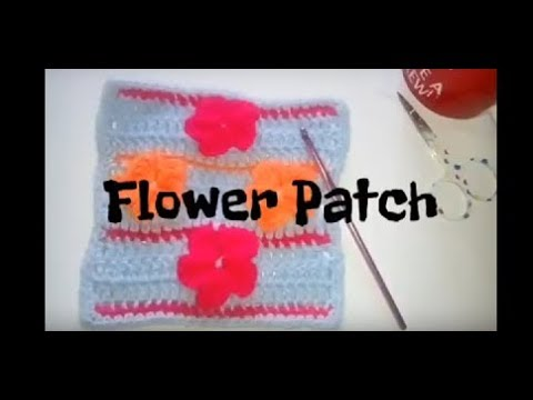 #131 - Flower Patch - 2018 Granny Square CAL
