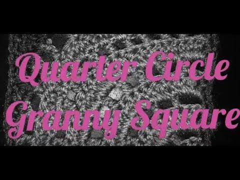 #146 - Quarter Circle Granny Square - 2018 Granny Square CAL