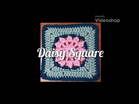 #170 - Daisy Square - 2018 Granny Square CAL
