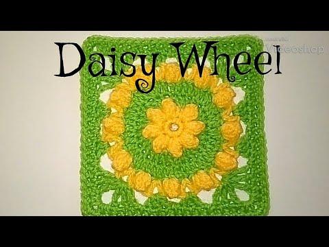 #253 - Daisy Wheel - 2018 Granny Square CAL