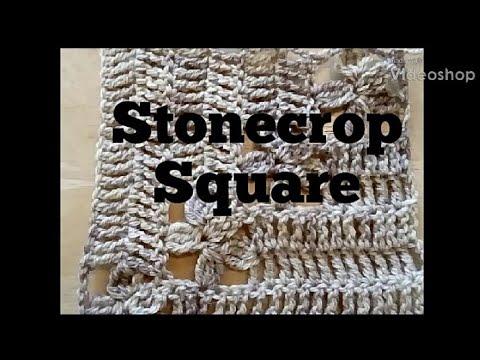 #306 - Stonecrop Square - 2018 Granny Square CAL