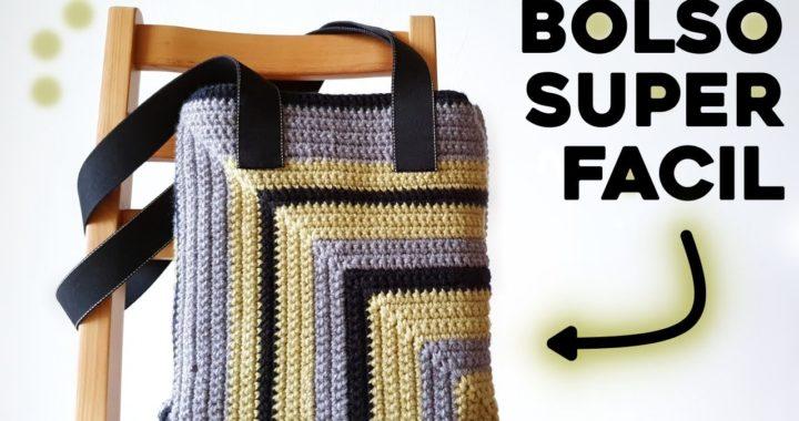 BOLSO A CROCHET FACIL: como tejer un TOTE BAG a crochet | Tutorial paso a paso | Ahuyama Crochet