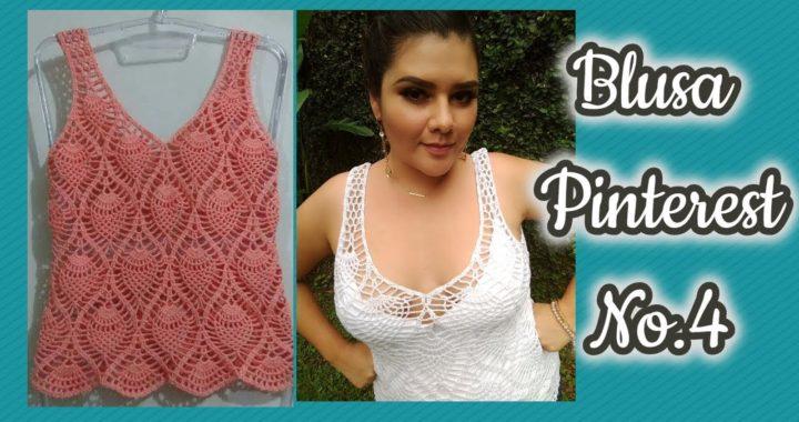 Blusa Pinterest a crochet #4
